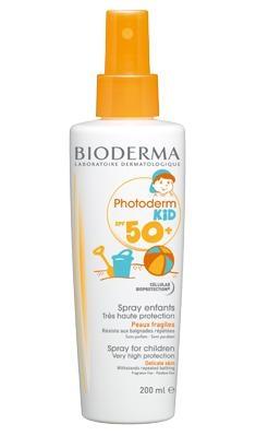 Bioderma Спрей Photoderm Kid SPF50+ Фотодерм Очень Высокая Защита, 200 мл