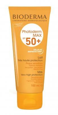 Bioderma Молочко Photoderm SPF 50+  Фотодерм MAX, 100 мл bioderma photoderm молочко после солнца 200 мл 1 шт