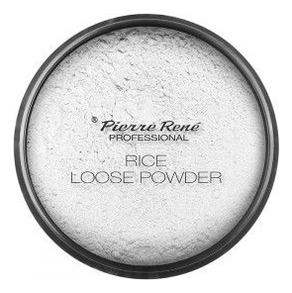 Pierre Rene Пудра Loose Rice Powder Транспарентная на Минеральной Основе 00 Прозрачная, 12г