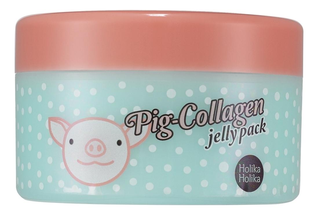 Holika Holika Маска Pig-Collagen Jelly Pack Ночная для Лица, 80г pig collagen jelly cream