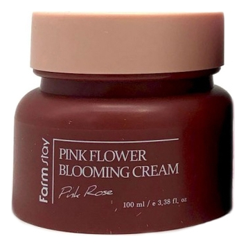 FarmStay Крем для Лица с Экстрактом Розы Pink Flower Blooming Cream Rose, 100 мл