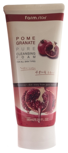 FarmStay Очищающая Пенка с Экстрактом Граната Pome Granate Pure Cleansing Foam, 180 мл