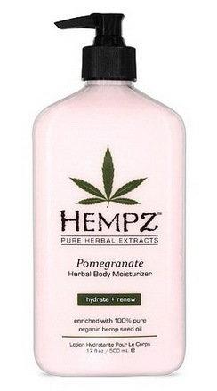 Фото - HEMPZ Молочко Pomegranate Herbal Body Moisturizer для Тела Увлажняющее с Гранатом, 500 мл молочко для тела uriage 500 мл увлажняющее
