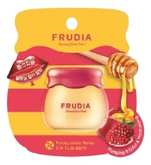 Frudia Бальзам Pomegranate Honey 3 in 1 Lip Balm для Губ с Медом и Экстрактом Граната, 10г недорого