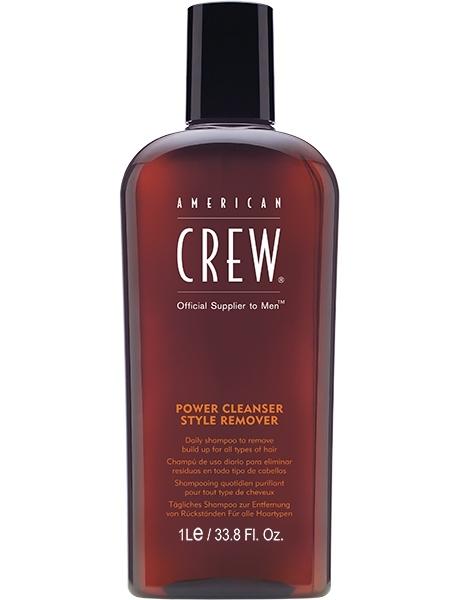 American Crew Шампунь для Ежедневного Ухода Очищающий Power Cleanser Style Remover Shampoo, 1000 мл power cleanser style remover ежедневный очищающий шампунь 1000 мл american crew для тела и волос