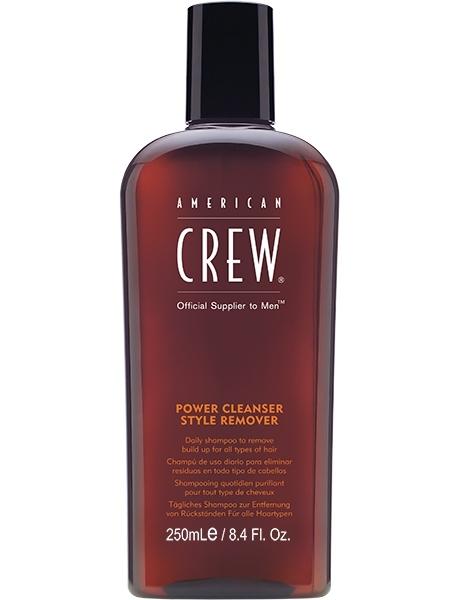 American Crew Шампунь для Ежедневного Ухода Очищающий Power Cleanser Style Remover Shampoo, 250 мл power cleanser style remover ежедневный очищающий шампунь 1000 мл american crew для тела и волос