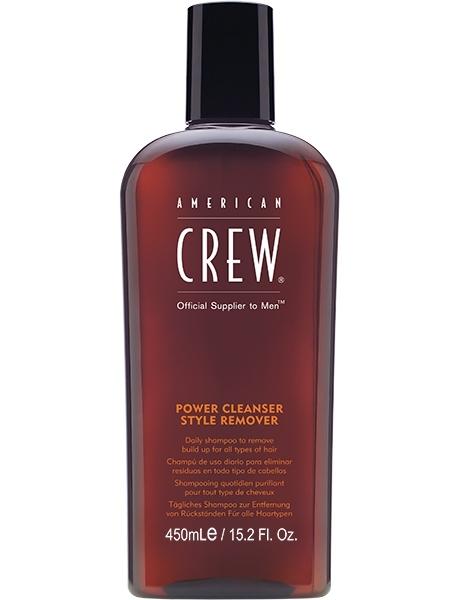 American Crew Шампунь для Ежедневного ухода Очищающий Power Cleanser Style Remover Shampoo, 450 мл power cleanser style remover ежедневный очищающий шампунь 1000 мл american crew для тела и волос