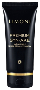 Limoni Крем Premium Syn-Ake Anti-Wrinkle Neck&Decollete Cream Антивозрастной для Шеи и Декольте со Змеиным Ядом, 75 мл аккумулятор hubsan h501s 25 для h501s