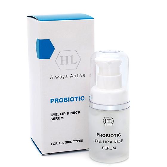 Holy Land Сыворотка Probiotic Eye, Lip & Neck Serum  для Век, Губ и Шеи, 15 мл holy land probiotic eye lip