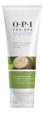 OPI Крем Protective Hand, Nail & Cuticle Cream Защитный для Рук, Ногтей и Кутикулы, 118 мл
