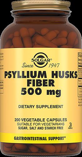 Solgar Псиллиум Psyllium Клетчатка Кожицы Листа Капсулы 500 мг №200