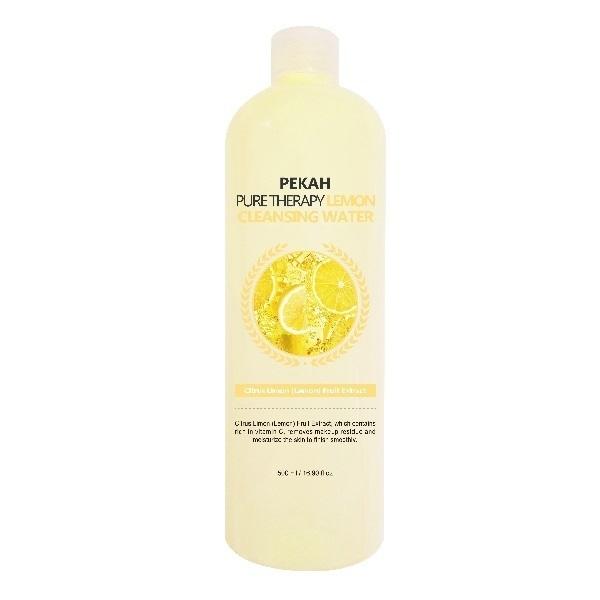 Pekah Вода Pure Therapy Lemon Cleansing Water Мицеллярная с Экстрактом Лимона, 500 мл