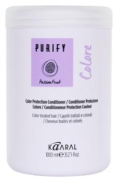 цена Kaaral Кондиционер для Окрашенных Волос Purify-Colore Conditioner, 1000 мл онлайн в 2017 году