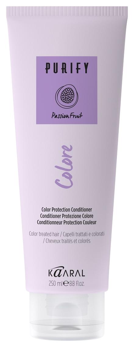 Kaaral Кондиционер Purify-Colore Conditioner для Окрашенных Волос, 250 мл кондиционер для сухих волос kaaral purify hydra conditioner 250 мл увлажняющий
