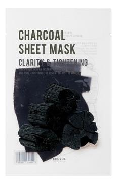 Eunyul Маска Purity Charcoal Sheet Mask Тканевая с Древесным Углем, 22 мл тканевая маска для лица с древесным углем fresh charcoal mask sheet