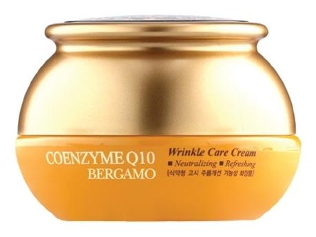 Bergamo Крем с Коэнзимом Q10 Антивозрастной Coenzyme Wrinkle Care Cream, 50г