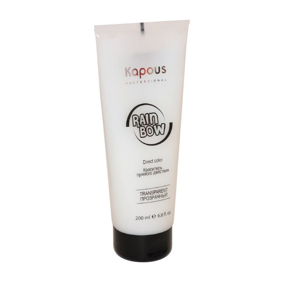 цена на Kapous Краситель Прямого Действия для Волос Rainbow Прозрачный, 200 мл