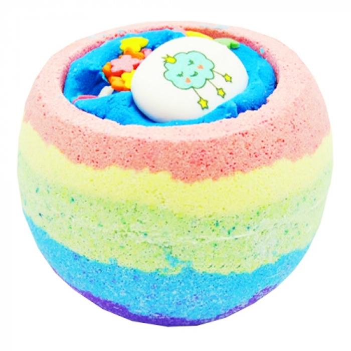 соль для ванны organic therapy бомбочка для ванны золотой янтарь BOOM SHOP cosmetics Бомбочка Rainbow Bomb для Ванны, 220г