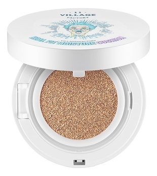 VILLAGE 11 FACTORY Кушон Real Fit Moisture Cushion SPF50+ PA+++ № 21 Medium Вeige Увлажняющий, 15г kims bb кушон moisture