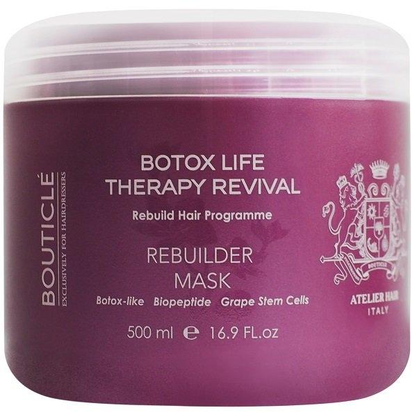 Bouticle Маска Rebuilder Mask Ботокс Восстанавливающая для Химически Поврежденных Волос, 500 мл