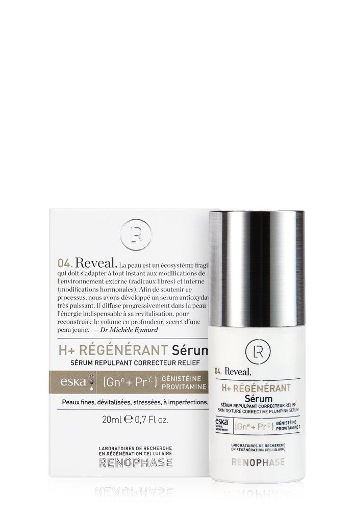 Renophase Сыворотка Regenerant Serum Н+ Регенерирующая, 20 мл teosyal регенерирующая сыворотка rha serum regeneration skin concentrat 30 мл teoxane
