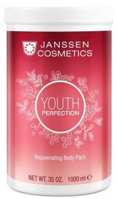 Janssen Обертывание Rejuvenating Body Pack Омолаживающее Кремовое Клюква, 1000 мл janssen cosmetics pure secrets