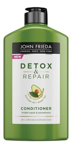 John Frieda Кондиционер для Восстановления и Гладкости Волос Repair & Detox, 250 мл недорого