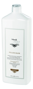 Фото - Nook Маска Repair Filler Mask Восстанавливающая для Сухих и Поврежденных Волос, 1000 мл витэкс fruit therapy маска 3 в 1 восстанавливающая для сухих и поврежденных волос папайя масло амлы 450 мл