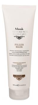 Фото - Nook Маска Repair Filler Mask Восстанавливающая для Сухих и Поврежденных Волос, 300 мл витэкс fruit therapy маска 3 в 1 восстанавливающая для сухих и поврежденных волос папайя масло амлы 450 мл