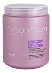 Dikson Маска Restructuring Moisturizing Mask Увлажняющая Восстанавливающая для Волос, 1000 мл