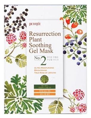 Petitfee Восстанавливающая Тканевая Маска с Растительными Экстрактами Resurrection Plant Soothing Gel Mask, 30г