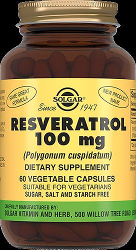 Solgar Ресвератрол Resveratrol Капсулы №60
