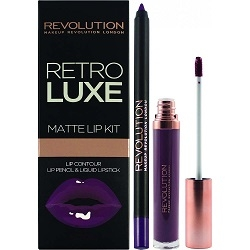 Makeup Revolution Набор для Макияжа Губ Retro Luxe Kits Matte Royal