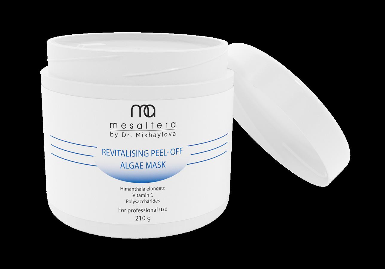 Mesaltera By Dr. Mikhaylova Маска Revitalising Peel- Off Algae Mask Ревитализирующая Альгинатная, 210г химические пилинги для лица профессиональные отзывы