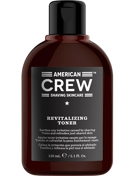 American Crew Лосьон После Бритья Revitalizing Toner, 150 мл лосьон тоник мятно камфорный 400 мл