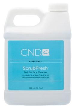 CND Лосьон Scrub Fresh Очищающий для Ногтей, 946 мл