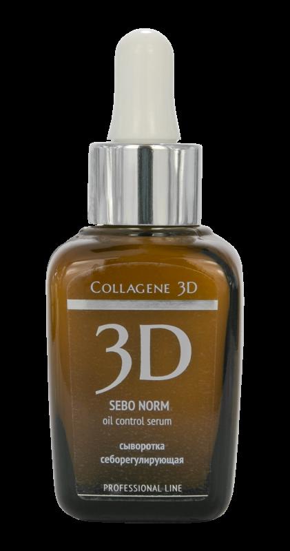 Collagene 3D Сыворотка для Лица Sebo Norm, 30 мл