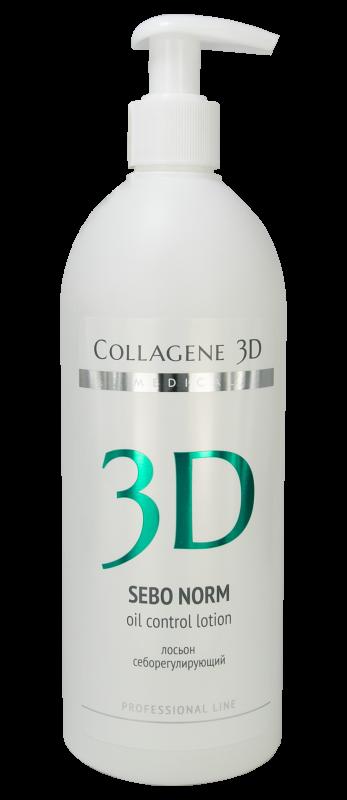 Collagene 3D Лосьон Себорегулирующий Sebo Norm, 500 мл