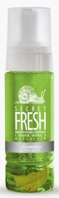 PREMIUM Пенка Secret Fresh Мицеллярная Тонизирующая с Муцином, Имбирем и Женьшенем, 170 мл