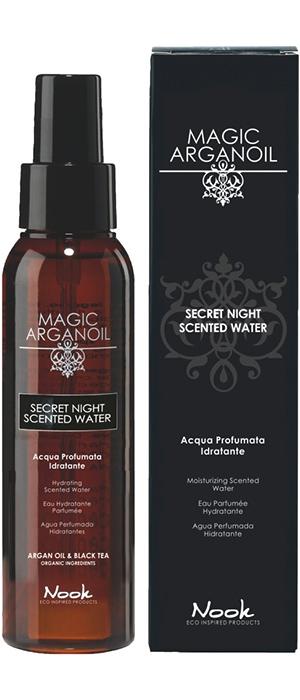 Nook Увлажняющая Душистая Вода для Лица, Тела и Волос Secret Night Scented Water for Body & Hair, 100 мл