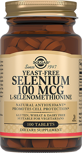 Solgar Таблетки Selenium 100 Mcg Селен 6 мкг №100