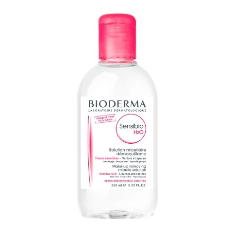 Bioderma Вода Sensibio Очищающая Сенсибио, 250 мл bioderma sensibio для глаз
