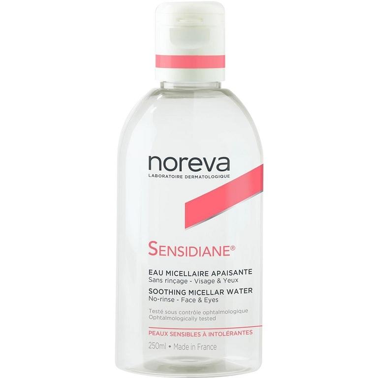 цена на Noreva Вода Sensidiane Мицеллярная Очищающая Успокаивающая, 250 мл