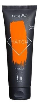 Sim Sensitive Краситель SensiDO Match Fireball Neon Прямого Действия Оранжевый Неоновый, 125 мл