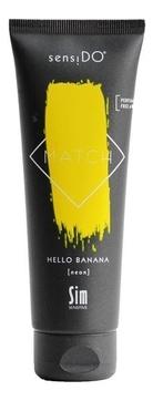 Sim Sensitive Краситель SensiDO Match Hello Banana Neon Прямого Действия Желтый Неоновый, 125 мл