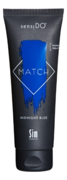 Sim Sensitive Краситель SensiDO Match Midnight Blue Прямого Действия Синий, 125 мл