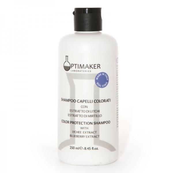 Optima Шампунь Shampoo Capelli Colorati для Окрашенных волос, 250 мл шампунь для окрашенных в пепельный и седых волос благородство серебра oribe silverati shampoo 250 мл