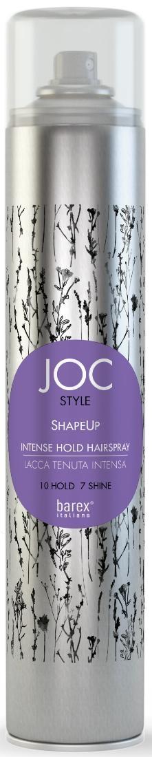 Barex Лак Shapeup Экстра Сильной Фиксации, 500 мл trinity hair care лак для волос подиумный экстра сильной фиксации stage staff hairspray 500 мл