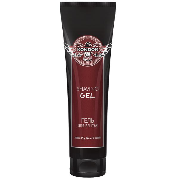 KONDOR Гель Shaving Gel для бритья, 100 мл гель для бритья la biosthetique shaving gel 150 мл