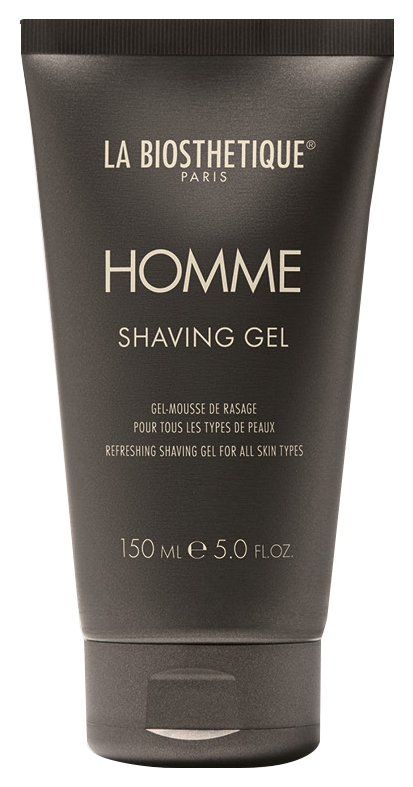 La Biosthetique Гель для Бритья для Всех Типов Кожи Shaving Gel, 150 мл la biosthetique глубоко очищающая кожу маска крем эксфолиант для всех типов кожи включая чувствительную masque peeling 200 мл